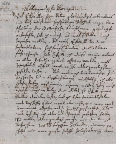 Olearius letters