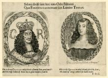 Leaflet from the marriage of Charles II of England and Catherine of Braganza