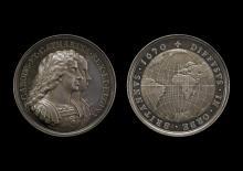 Charles II & Catherine of Braganza Medal