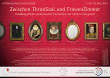 'Zwischen ThronSaal und FrawenZimmer' Conference