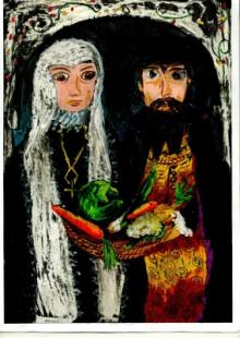 'Bona Sforza and Zygmunt I' by Aleksandra Krasniewicz